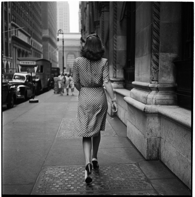 Photo by Stanley Kubrick. New York, 1946.